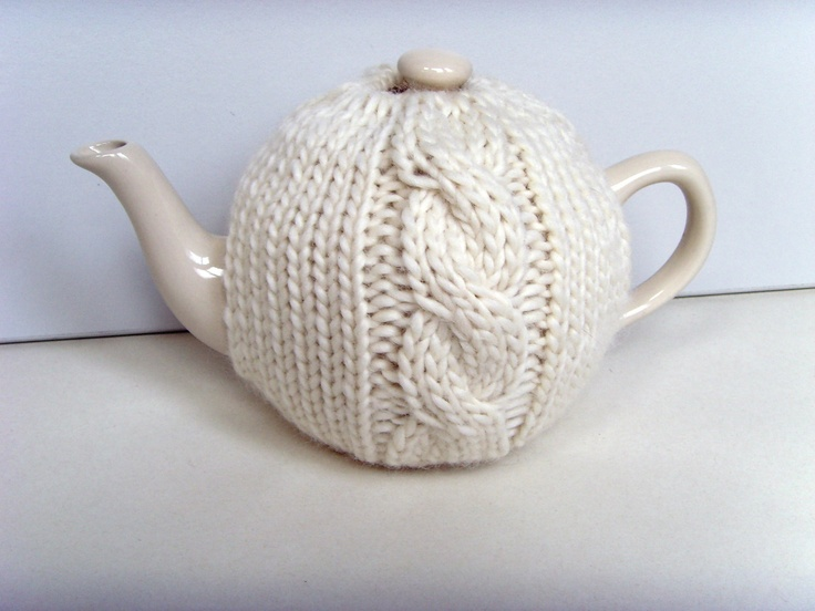 Knitting Pattern Cable Tea Cosy : 17 Best ideas about Knitted Tea Cosies on Pinterest Tea cosies, Tea cozy an...