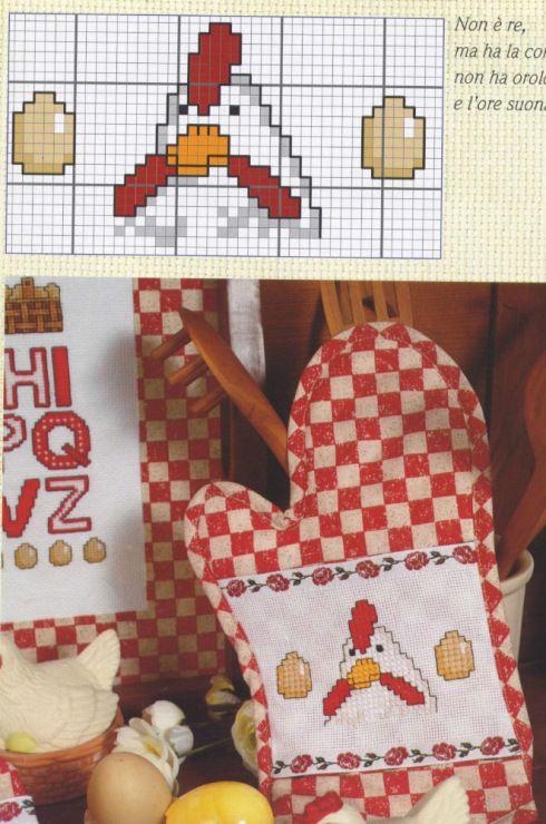 Chicken Mitten & ABC #4/4 Gallery.ru / Фото #134 - dish towels - patrizia61