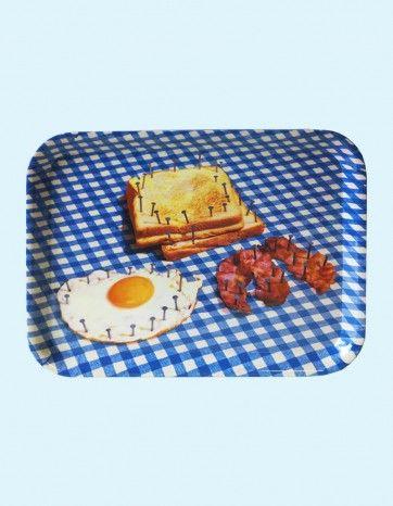 Breakfast Melamine Tray