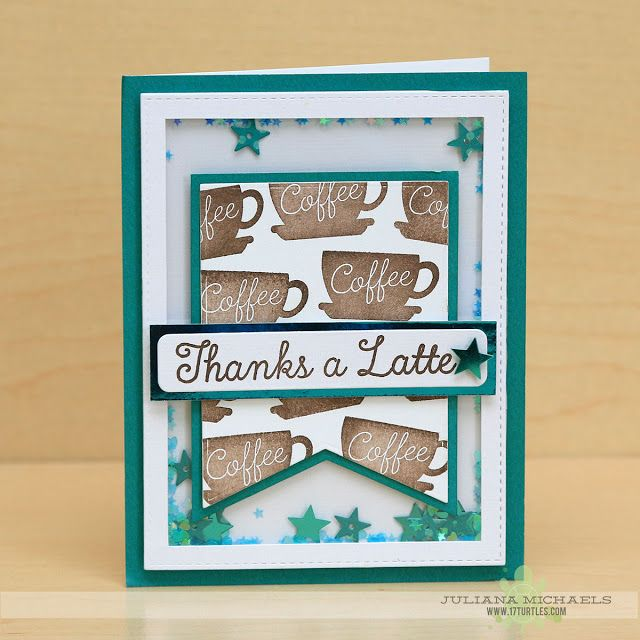 530 best cards mft stamps images on pinterest craft cards diy card cup mft coffe cup stamp thanks a latte card by juliana michaels featuring a shaker box and the lld perk up stamp set and die namics blueprints 24 from malvernweather Image collections