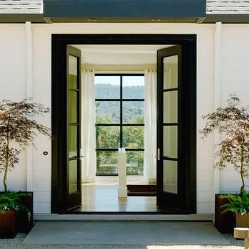 Black French Doors Patio the 25+ best narrow french doors ideas on pinterest | french doors
