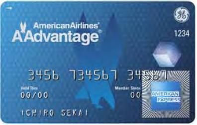 American Airlines AAdvantage   American Express blue   カード情報ブログ『カードビジネスのネタ帳』