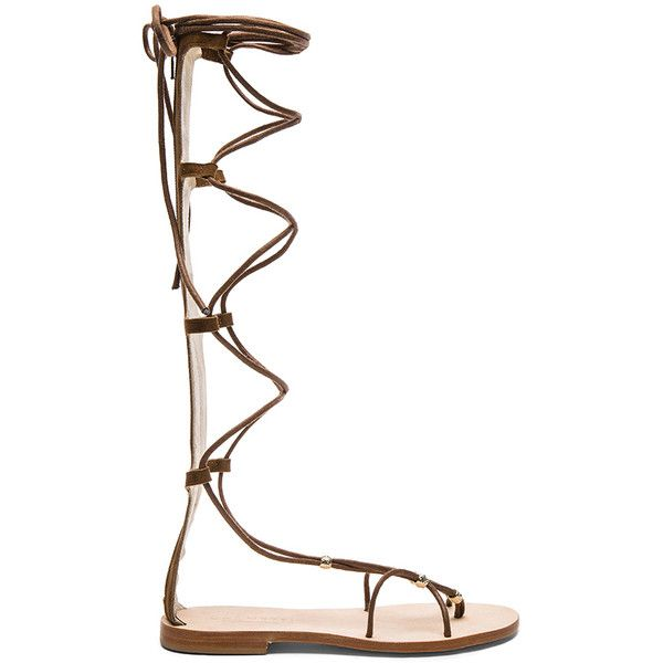 CoRNETTI Praia Gladiator (309,105 KRW) ❤ liked on Polyvore featuring shoes, sandals, laced up shoes, beaded sandals, gladiator shoes, laced up gladiator sandals and leather sole shoes