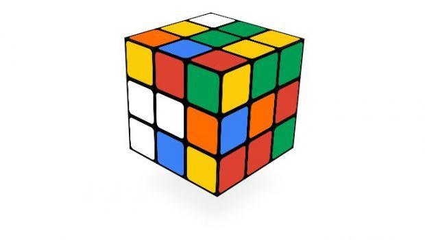 Il Google Doodle di oggi: il 40° anniversario del Cubo di Rubik