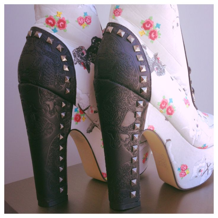 Bad-to-the-Bone, Black Sheep Booties from Iron FisR.E.M.. Want!!
