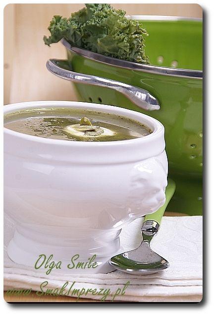 Zupa jarmużowa - przepis Olgi Smile