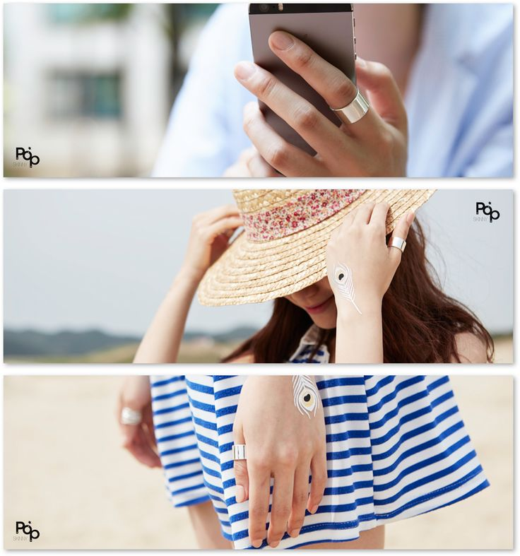 공블리반지 Simple Wide Silver Ring 925실버반지 주군의태양 공효진반지 공블리반지 너클링 은반지 순은반지 커플링 패션반지 실버평반지 공효진반지 마디반지 : 스키니팝