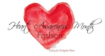 February is Heart Awareness Month and here are some ideas on how to create some Heart Awareness Month fashion to show you how you can bring awareness to heart health with style.