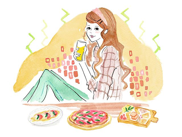毎年のことながら、年末年始の食べ過ぎでこの時期は胃腸がダウンお疲れモード…。新しい年、内臓から元気で過ごすためのツボエクササイズをご紹介。