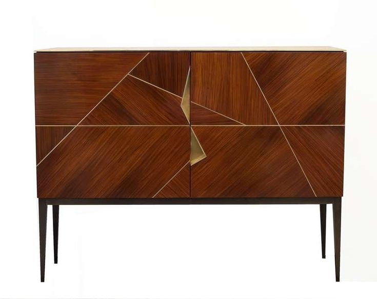 Giò Royal Oak Marquetry Cabinet By Achille Salvagni