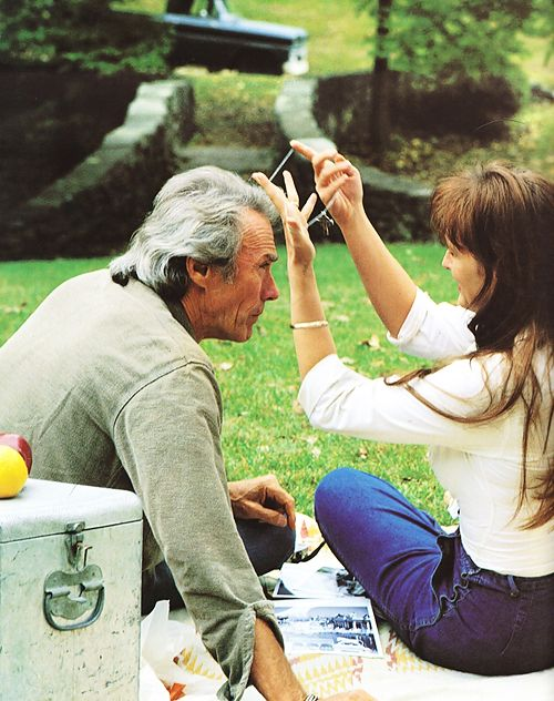 Clint Eastwood & Meryl Streep in The Bridges Of Madison County (1995) directed by himself.
