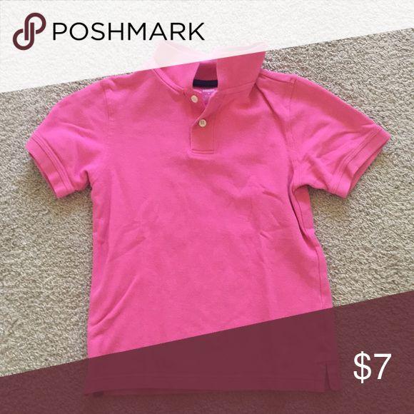 Pink polo Boys pink polo shirt Gymboree Shirts & Tops Polos