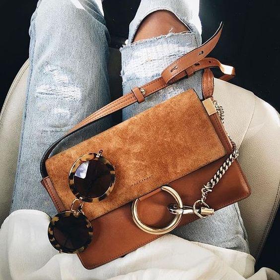 Brown Chloe Faye bag
