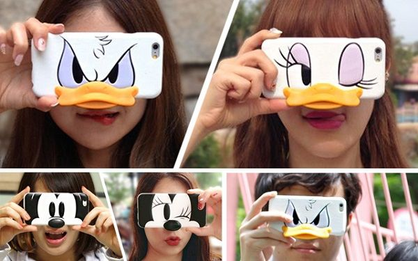 Phone Covers Turn You Into Familiar Disney Characters When You Snap A Photo - DesignTAXI.com