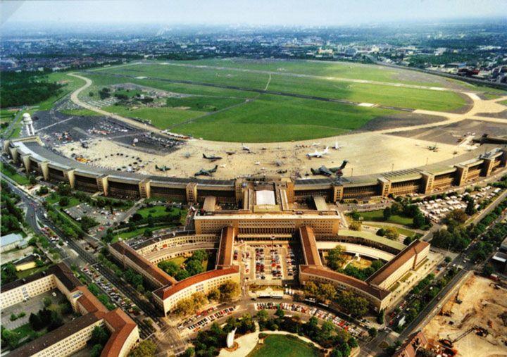 Tempelhof Airport, Berlin, Germany