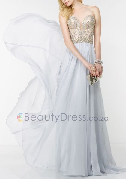 Floor-length Crystals As Picture Sweetheart Backless A-line Sleeveless Dresses - 1540693 - Prom Dresses