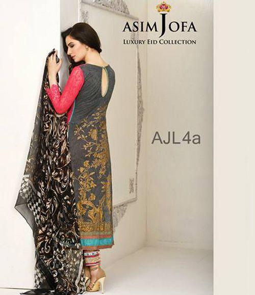 Asim Jofa Luxury Lawn Eid Collection 2015 AJL_4A