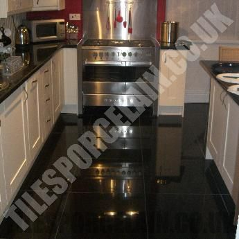 Super Black Porcelain Tiles for Bathroom | Floor Tiles | Wall Tiles