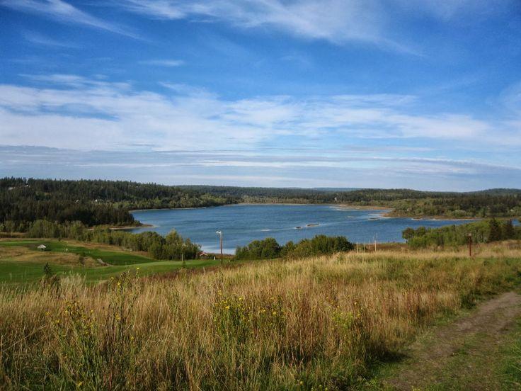 Tur til Canada - British Columbia: 108 Mile House – en tur på golfbanen og 108 Lake