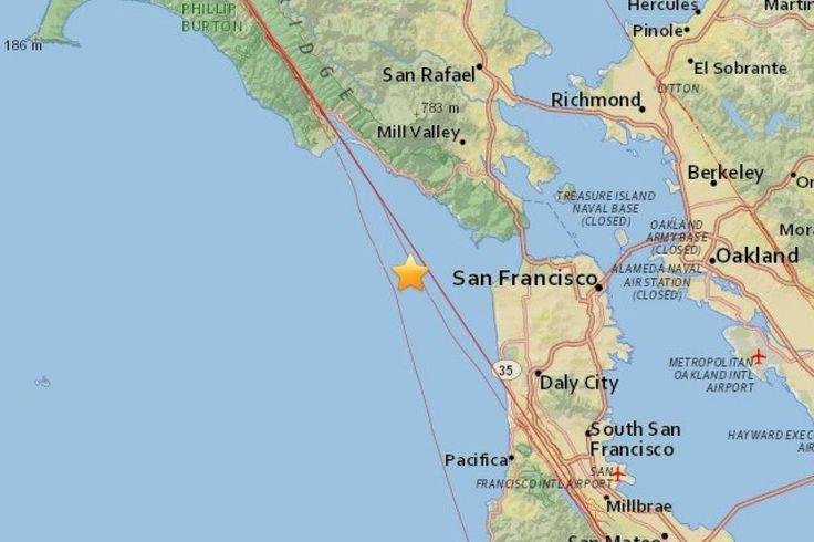 Reportan sismo en San Francisco California magnitud 3.2 - Publimetro México (blog)