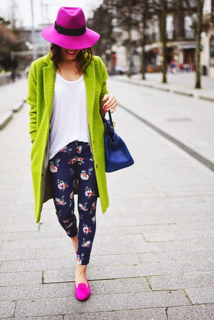 Mis Queridas Fashionistas: STREET STYLE: Bloggers & Style, street clothes creations, vivid colours