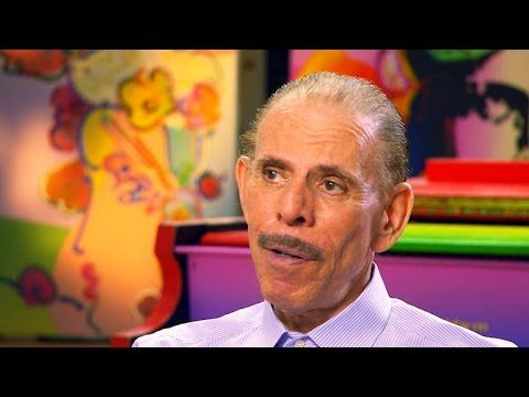 Artist Peter Max's colorful creations span 50 years - YouTube