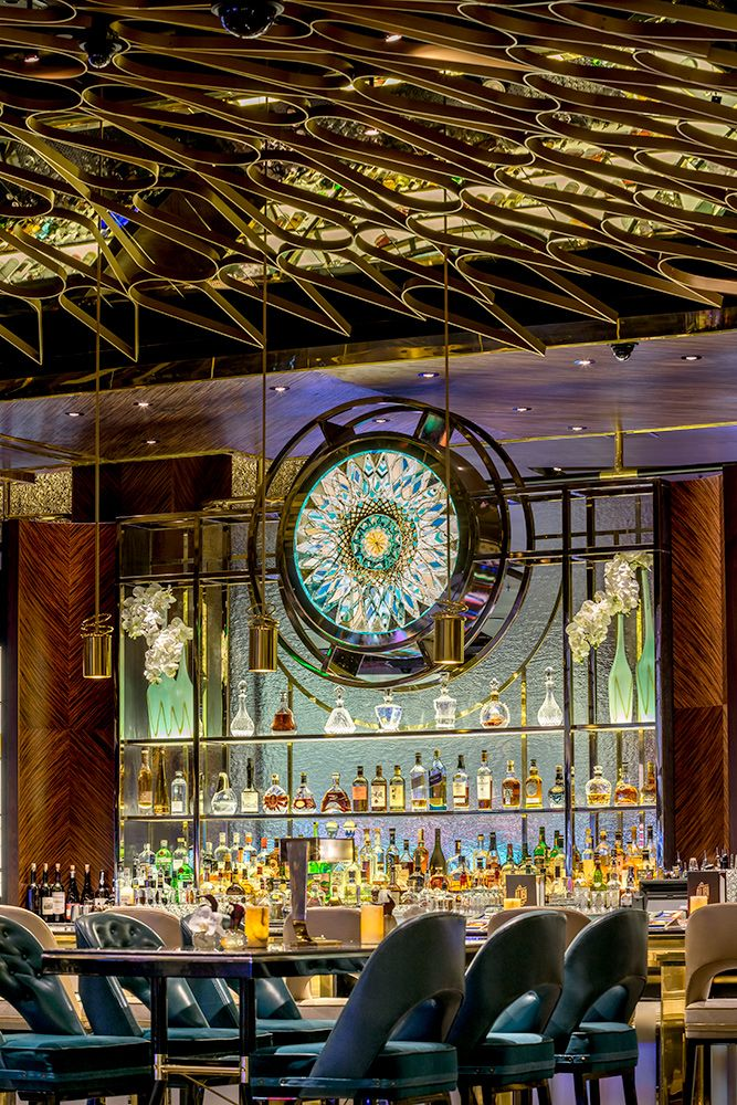 Located At The Aria Resort Casino Las Vegas Designed By Studio Munge Architecture By Yws