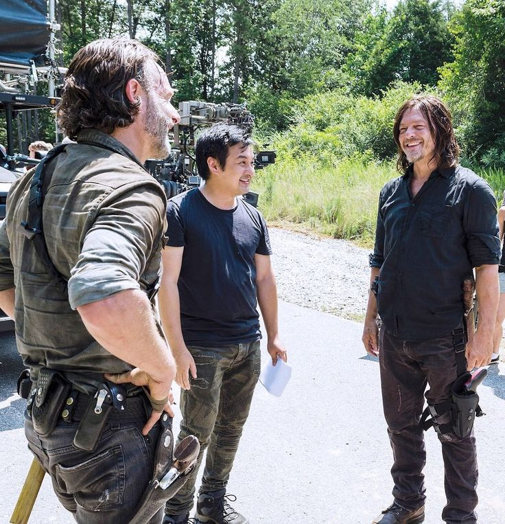 Andrew Lincoln And Norman Reedus That Smile Twd