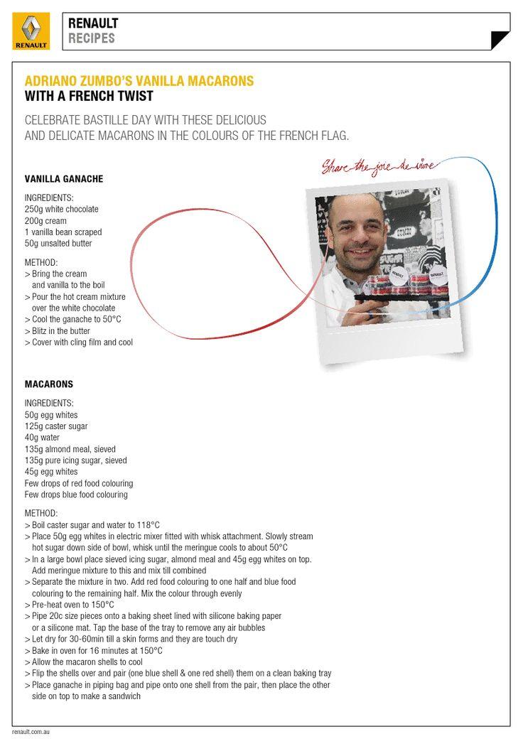 Adriano Zumbo's Vanilla Macarons