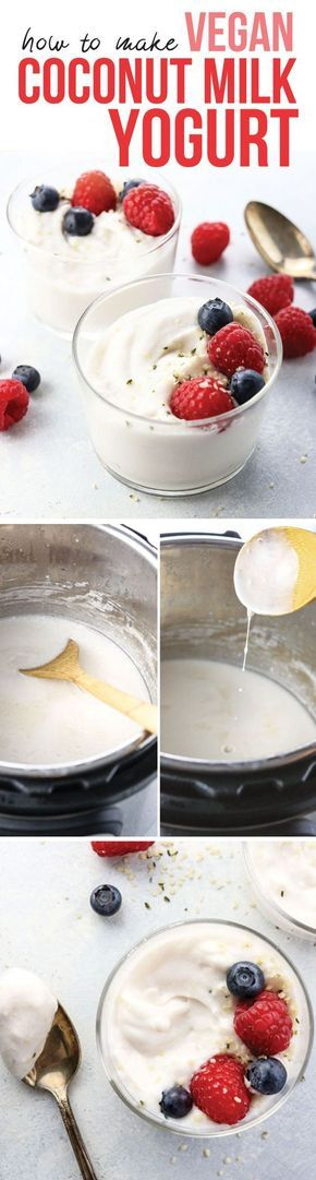 This post teaches you how to make vegan coconut milk yogurt in the Instant Pot. (If you don't have a pressure cooker with the yogurt function, there are stove top directions, too!) Perfect dairy-free yogurt without using gelatin!
