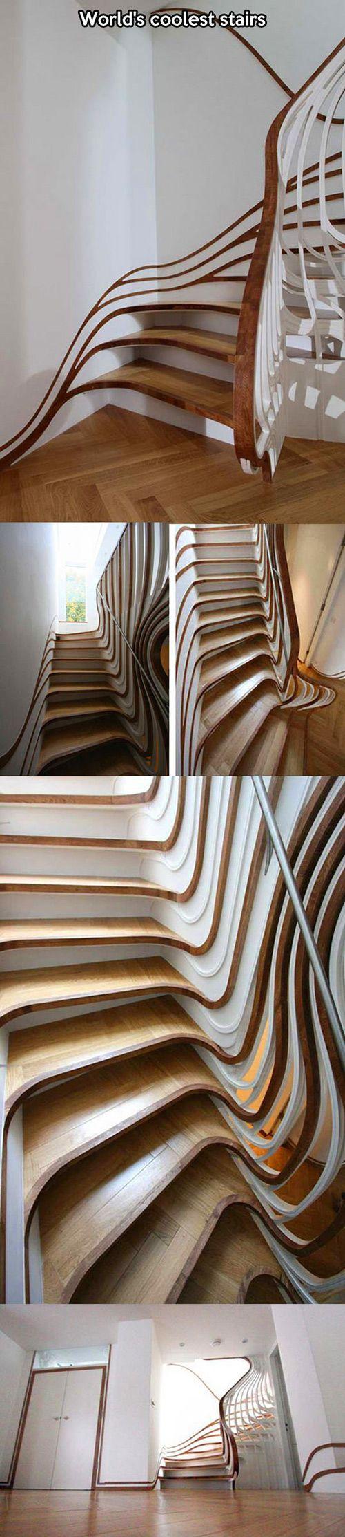 If Tim Burton Designed Stairs.