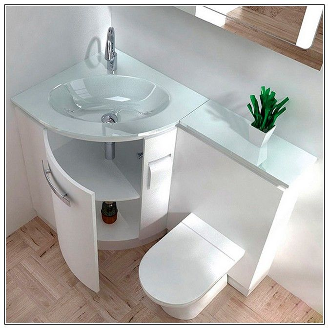 Digital Art Gallery Corner sink vanity units for bathrooms