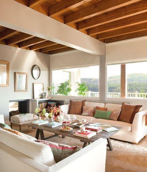 Una mezcla con mucho estilo · ElMueble.com · Casas