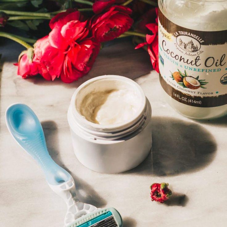 Natural Coconut Oil Shaving Cream