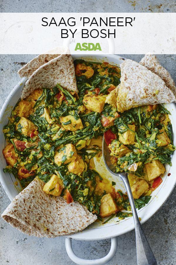 Bosh S Saag Paneer Recipe In 2020 Veggie Recipes Tofu Recipes Vegetarian Recipes