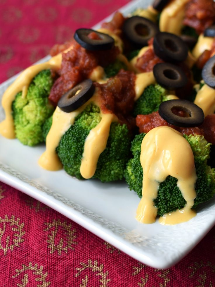 This simple, quick recipe for vegan cheesy broccoli is in celebration of Cinco de Mayo, food allergy and celiac awareness, and some big news for dairy-free.