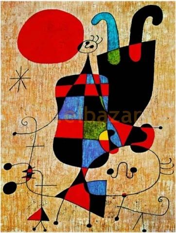 Perro bajo el sol - Joan Miró
