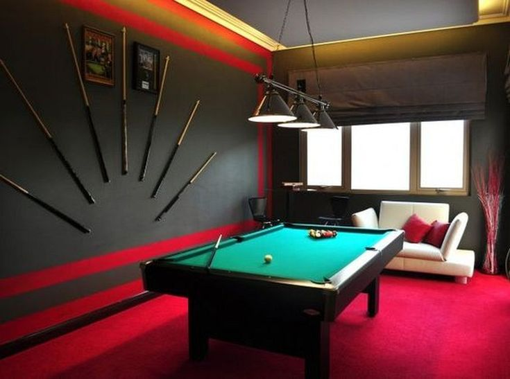 30 Brilliant Billiard Room Designs Ideas for Entertainment in the Home