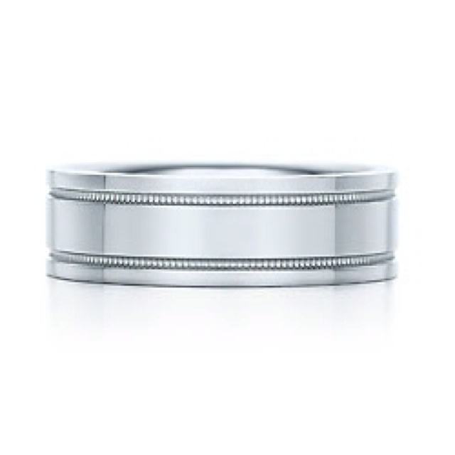 Platinum Double Milgrain 6mm Wide Flat Wedding Band Ring: 13 Best Gift Guide For Him Images On Pinterest