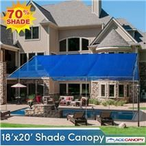 Shade Canopy x bliHeavy Duty Mesh Tarp Cover shade liSuper Heat Resistant liWeather Resistant liHeavy Duty Ball Bungees liNo Tools Required - Easy Set-up ... & 13 best Shade Canopy images on Pinterest | Shade canopy Canopies ...