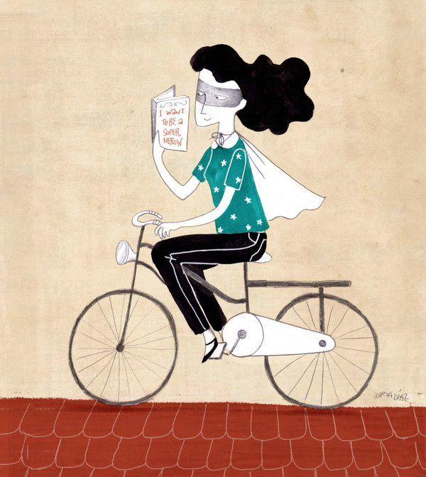 Este martes, 8 de marzo, se celebra el Día Internacional de la Mujer, una jornada donde se pretende concienciar sobre la importancia de la igualdad de género y resaltar el papel femenino en la sociedad. ¡Esperemos que algún día no haya nada que celebrar porque la igualdad sea lo habitual!!. ¡Felicidades a todas!  Ilustración de: http://www.nuriadiaz.es/