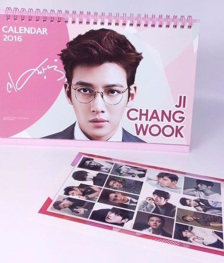 Ji Chang Wook KPOP 2016 2017 Desk Calender Calendar (with Sticker ) K Pop