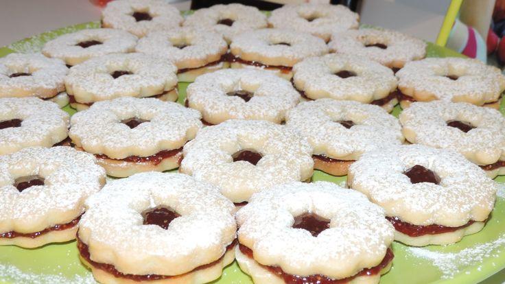 Plätzchen sau fursecuri nemţeşti cu dulceaţă