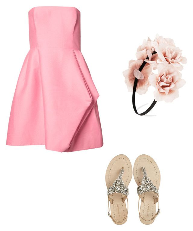 """Untitled #71"" by anais-maria on Polyvore featuring Halston Heritage, Antik Batik and Forever 21"