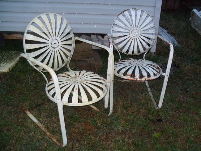 Before Tattoos Were Popular, We Abused Our Backsides With These Butt  Embossers From Many A · Metal Garden FurnitureVintage Patio ...