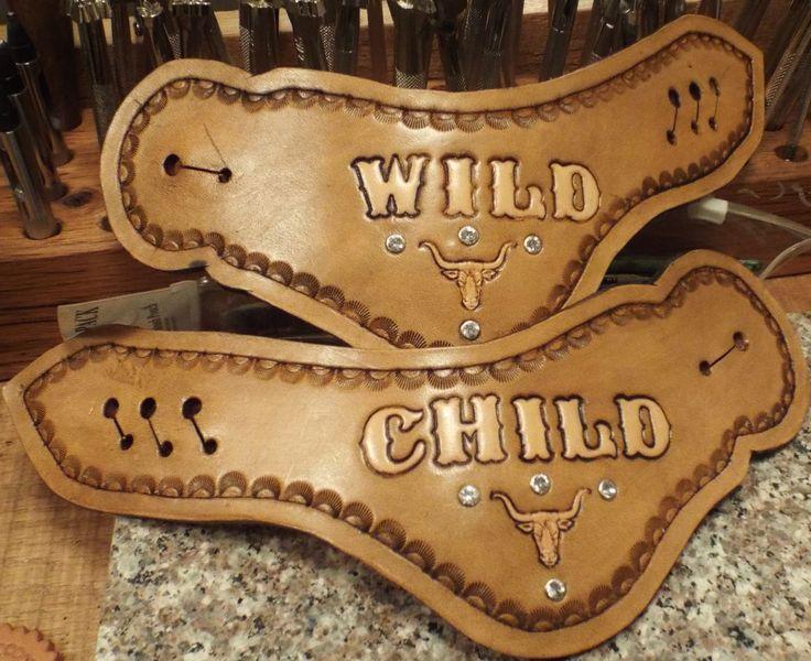 custom spur straps by Rockin Bs