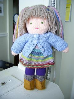 Knitted Waldorf Doll by Beth Ann Webber   Free pattern download