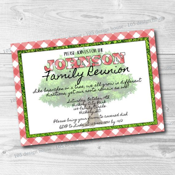 9 best Printable Invitations images on Pinterest Printable - best of invitation reunion template