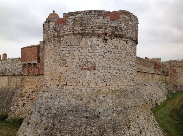 172. The Dry Moat of the Fortress of Salses in Salses-le-Château