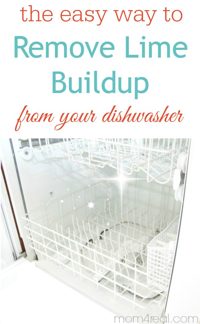 Clean Your Dishwasher & Remove Hard Water Deposits - Get rid of those spots on your dishes for good!
